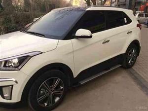 白色ix25连车带人外租/代驾服务
