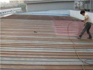 彩鋼房改建除銹噴漆