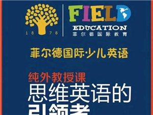 菲爾德國際少兒英語開課了 免費試聽純外教D