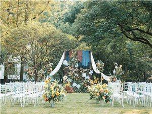 麦田婚礼。