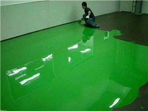 環氧地坪施工自流平水泥地坪漆施工工廠車間環氧地坪漆
