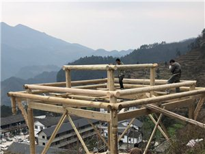 广安专业定制防腐木凉亭四角亭家用凉亭。长廊连廊。