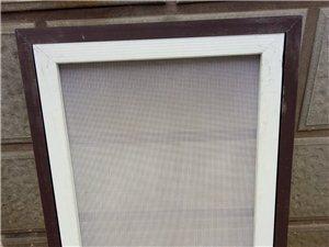 門窗維修密封定做金剛網護欄,防盜門加裝通風窗