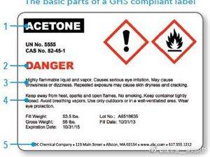 淄博GHS滚筒化工标签合格证统一标准