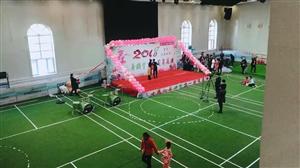 小花儿舞蹈学校周年庆,宾县大管家现场直播抽奖