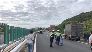 三亚东线高速分界洲岛(牛岭)路段路况紧急告知