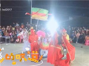 客家马灯团表演,支持家乡民间艺术发展!