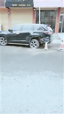 水利路连环撞:四辆车受损!