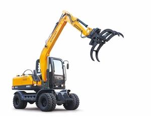 轮式挖机出租