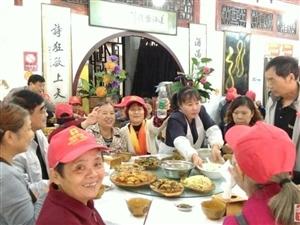 恒维物业组织的翰林福邸老年业主重阳节成都一日游