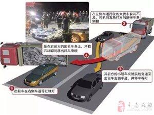 四辆车造成的事故,遵守交通规则的司机却......