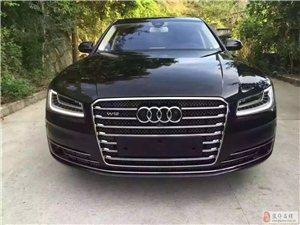 2016款奥迪A8L 6.3 W12 4座,黑色