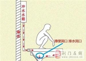 卫生间蹲便用前排还是后排?很有讲究,看到第四种我就收了