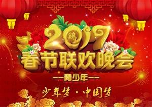 """2017""""少年梦・中国梦""""淮安市青少年春节联欢晚会"""