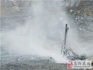镇平县铂源建材、华夏石料厂非法私挖盗釆国家资源数年无人敢