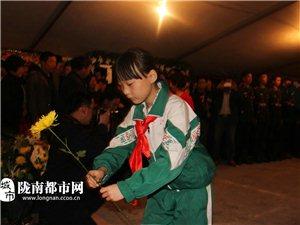 陇南都市网:网友代表吊唁英雄樊龙