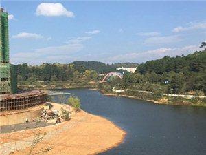开阳县阳明湖生态公园项目建设有序推进