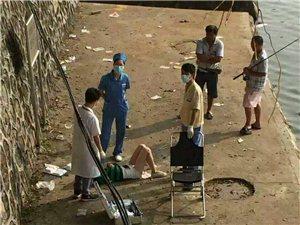 一名女子在台城通济河畔自杀是谣言!