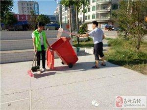高州市巾帼志愿者长坡薪火队参加计划生育宣传活动