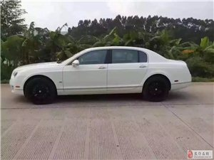 纯13年宾利飞驰6.0极速版 白色