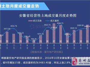 10月安徽17城市土地市场报告
