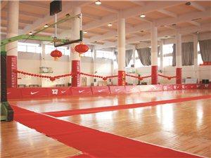 给同志们介绍一个打篮球的好去处!室内篮球馆!
