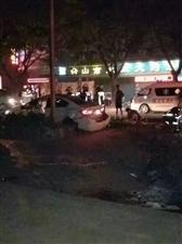 """台城-城北清晨发生""""翻车""""交通事故"""