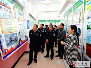 新干车站派出所组织民警;参观禁毒教育基地