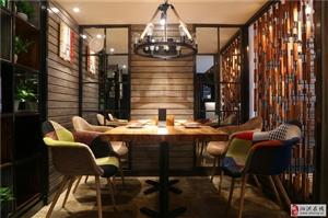 沈阳・川泽三休闲主题餐厅可以这样设计,颜值更高了!