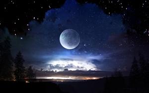 约吗?今晚石花山陪你看月亮!错过再等18