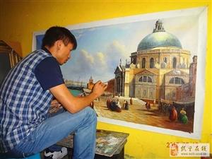 凯里油画/墙画/?#20132;?彩绘/墙体绘画家装酒店背景墙格调装饰