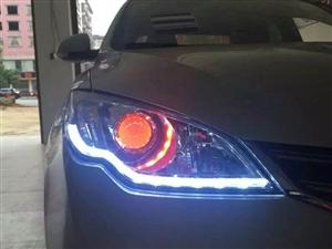 永州小雷改灯 改装案例  荣威360车灯升级
