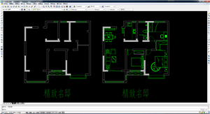 状元府94平精致名邸户型改造、施工图