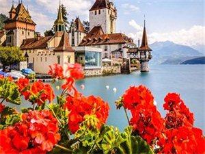 这辈子一定要去一次瑞士,美呆了