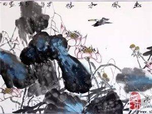 则天艺术-中国画家协会齐鲁创作中心理事张泰捷教授八平尺作品《惠风和畅》