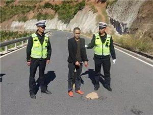 撞伤我县嘎吉镇5岁男孩的肇事逃逸司机被逮着了。
