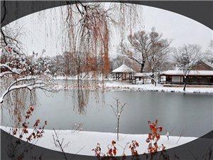 如意湖冬色
