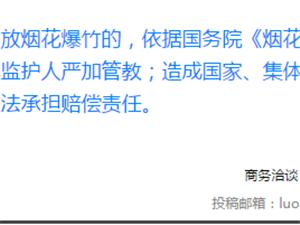 【通知】12月1日起,漯河这些区域禁止燃放烟花爆竹!