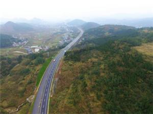 秀松高速公路�A�年底通� 秀山1.5小�r可到�P凰