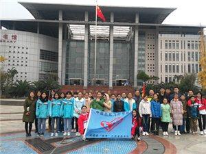 近日,广汉市高坪中学组织学生会干部前往中国民航飞行学院参观学习