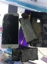 苹果手机也爆炸了现场照片吓人!