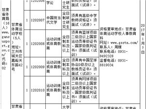 甘肃省省直事业单位公开招聘人员公告(2016年第十二期)
