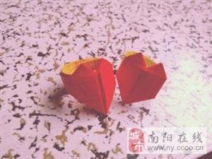 心形戒指折纸