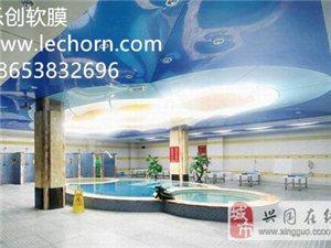 洗浴中心吊顶洗浴吊顶材料游泳馆吊顶报价软膜天花的价格