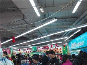 沙坪新天地�N��超市�_��了