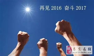跨越2016迎战2017, 泰安中兴驾校给大家拜年了