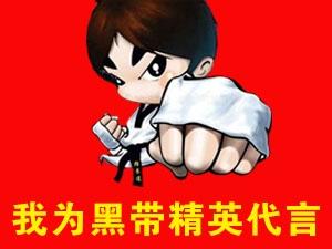 """2017黑带精英跆拳道""""我为黑带精英代言"""""""