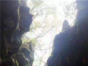 震撼!天柱县渡马新发现天坑、溶洞和石林。