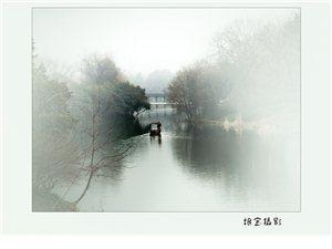 元旦雾霾中单杭州照片
