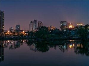 水上公园夜景